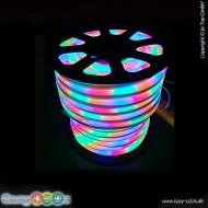 led lichtschlauch neonflex 10m rgb lauflicht 230v. Black Bedroom Furniture Sets. Home Design Ideas