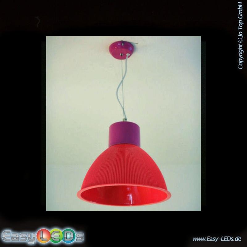 led pendelleuchte pink 23cm 5 5 watt warm wei online. Black Bedroom Furniture Sets. Home Design Ideas