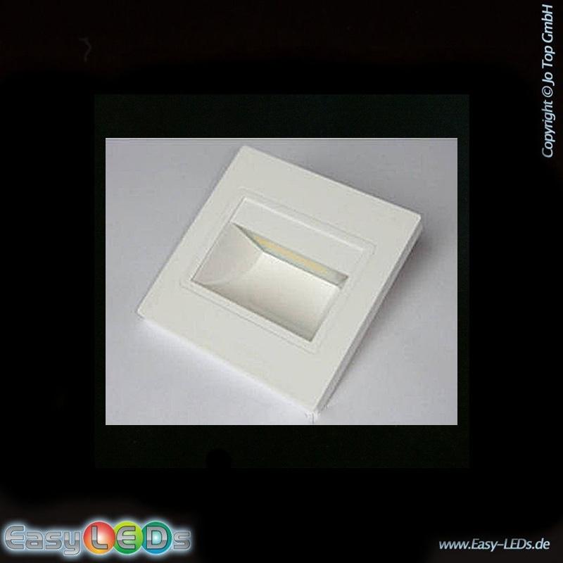 led stufenbeleuchtung einbau 1 5 watt warm wei online kaufen. Black Bedroom Furniture Sets. Home Design Ideas