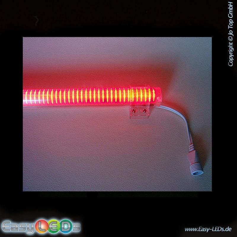 led lichtr hre 1m 10 watt rot ip45 online kaufen. Black Bedroom Furniture Sets. Home Design Ideas