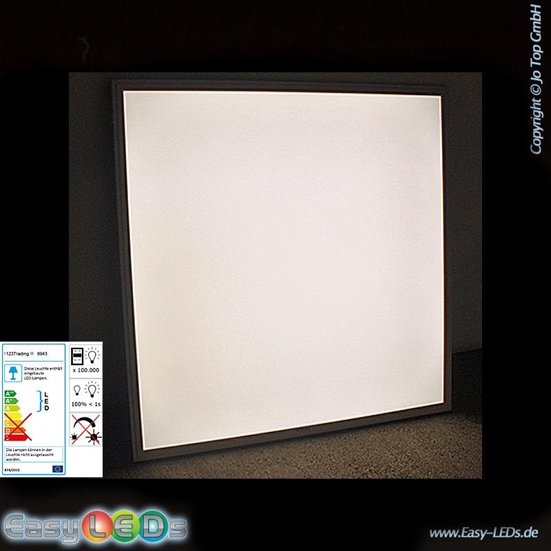 led deckenleuchte panel 60x60cm 36 watt tageslicht wei online kaufen. Black Bedroom Furniture Sets. Home Design Ideas