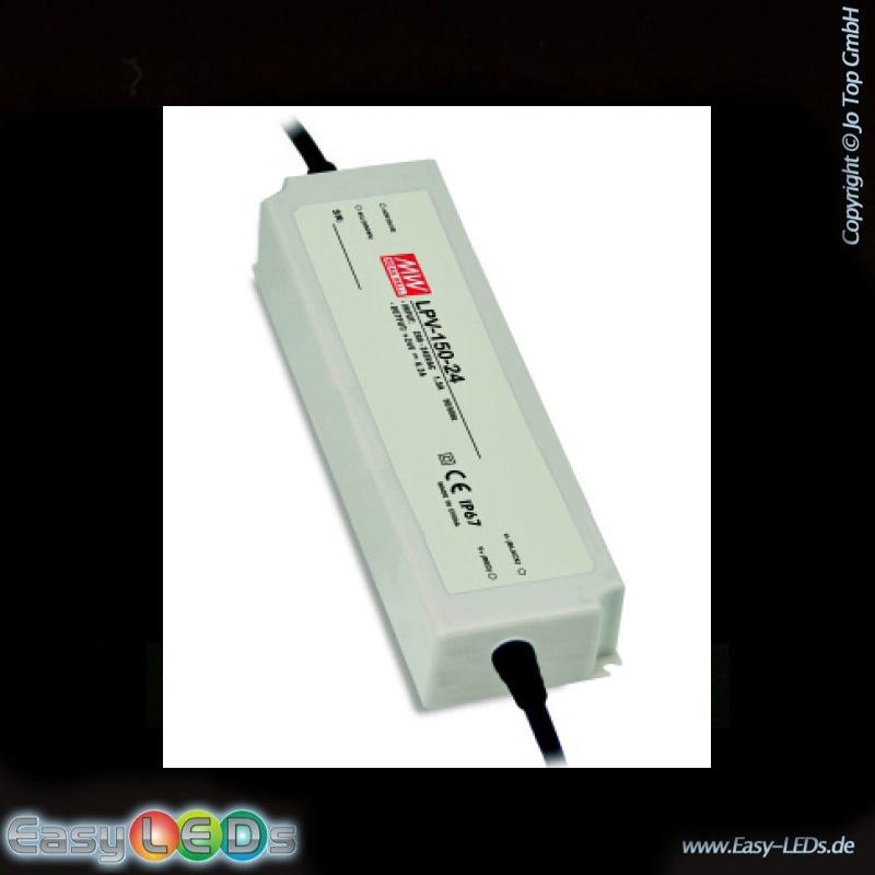 led netzteil 24 volt bis 150 watt ip67 online kaufen. Black Bedroom Furniture Sets. Home Design Ideas