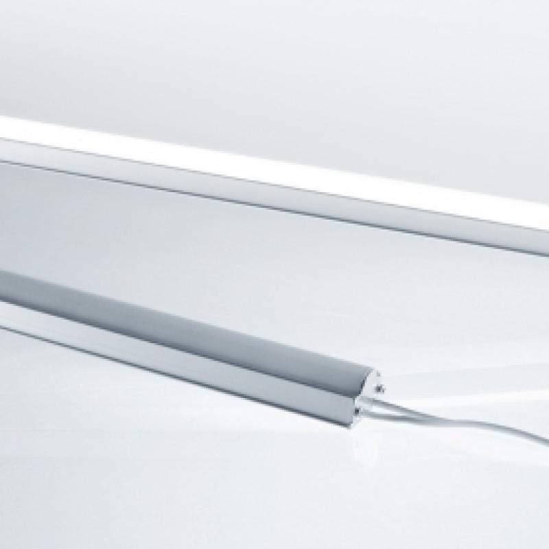 led lichtleiste 1m aluminium 10 watt wei mc. Black Bedroom Furniture Sets. Home Design Ideas