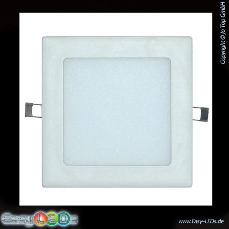 led einbauleuchte quadratisch 21 watt tageslicht wei online kaufen. Black Bedroom Furniture Sets. Home Design Ideas