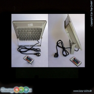A LED Fluter Slim 10 Watt COB RGB + IR-FB