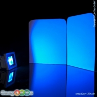 A LED Fluter Slim 30 Watt COB blau