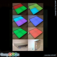 LED Bodenpanel-Dance Floor 50x50x12,5cm RGB